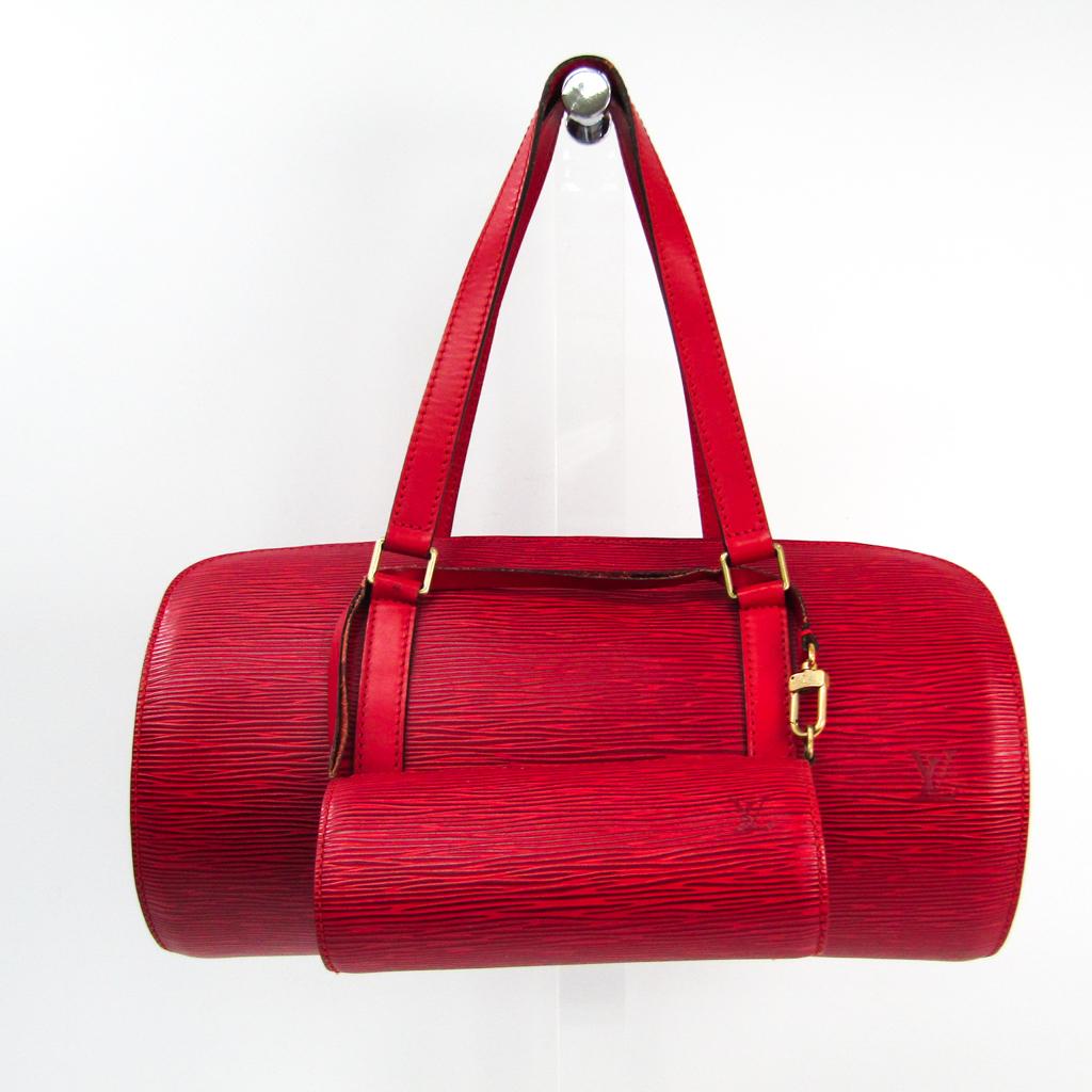 ルイ ヴィトン Louis Vuitton エピ カスティリアンレッド 大決算セール M52227 注文後の変更キャンセル返品 ハンドバッグ 中古 スフロ