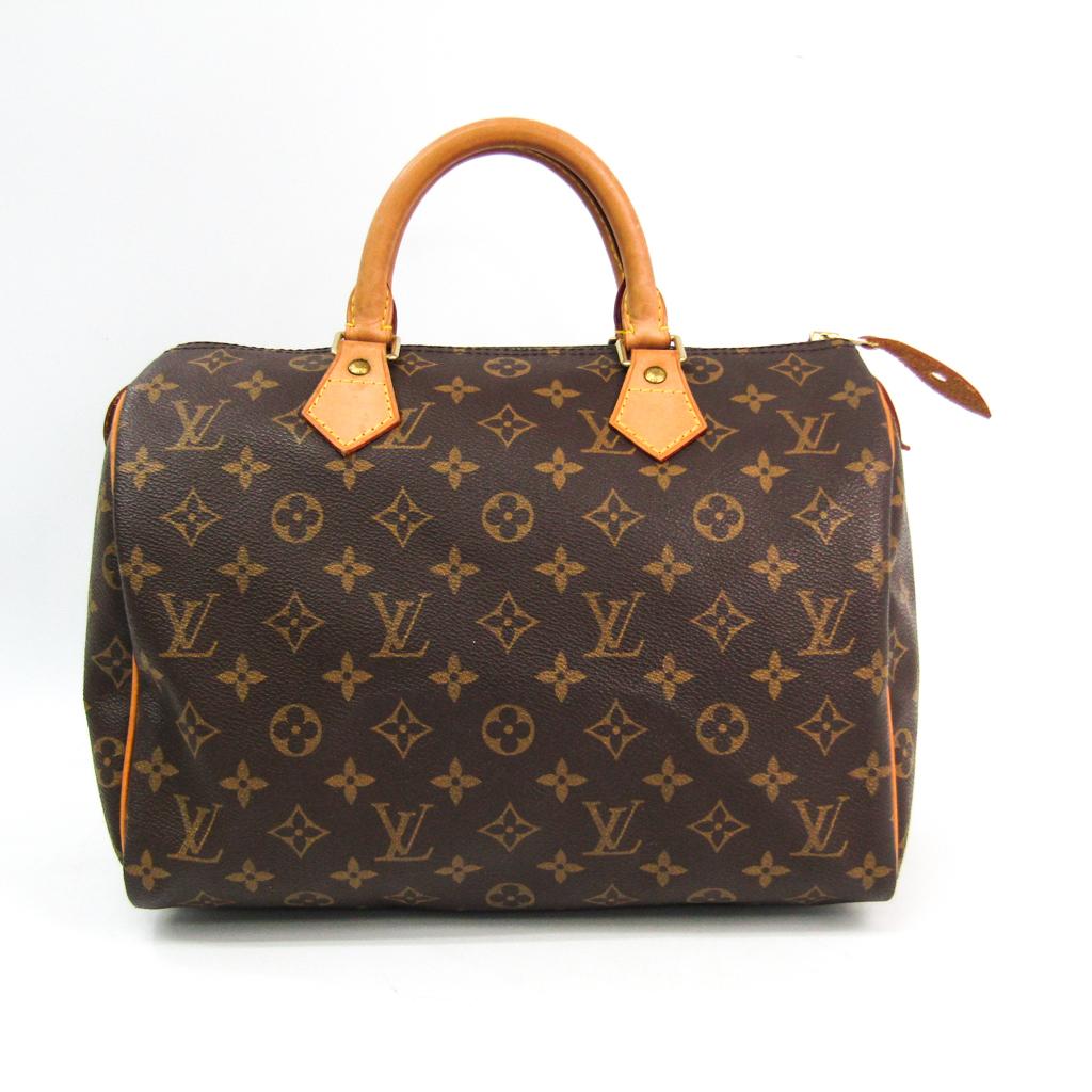 信託 ルイ ヴィトン Louis 数量は多 Vuitton モノグラム スピーディ30 ハンドバッグ 中古 M41526 レディース