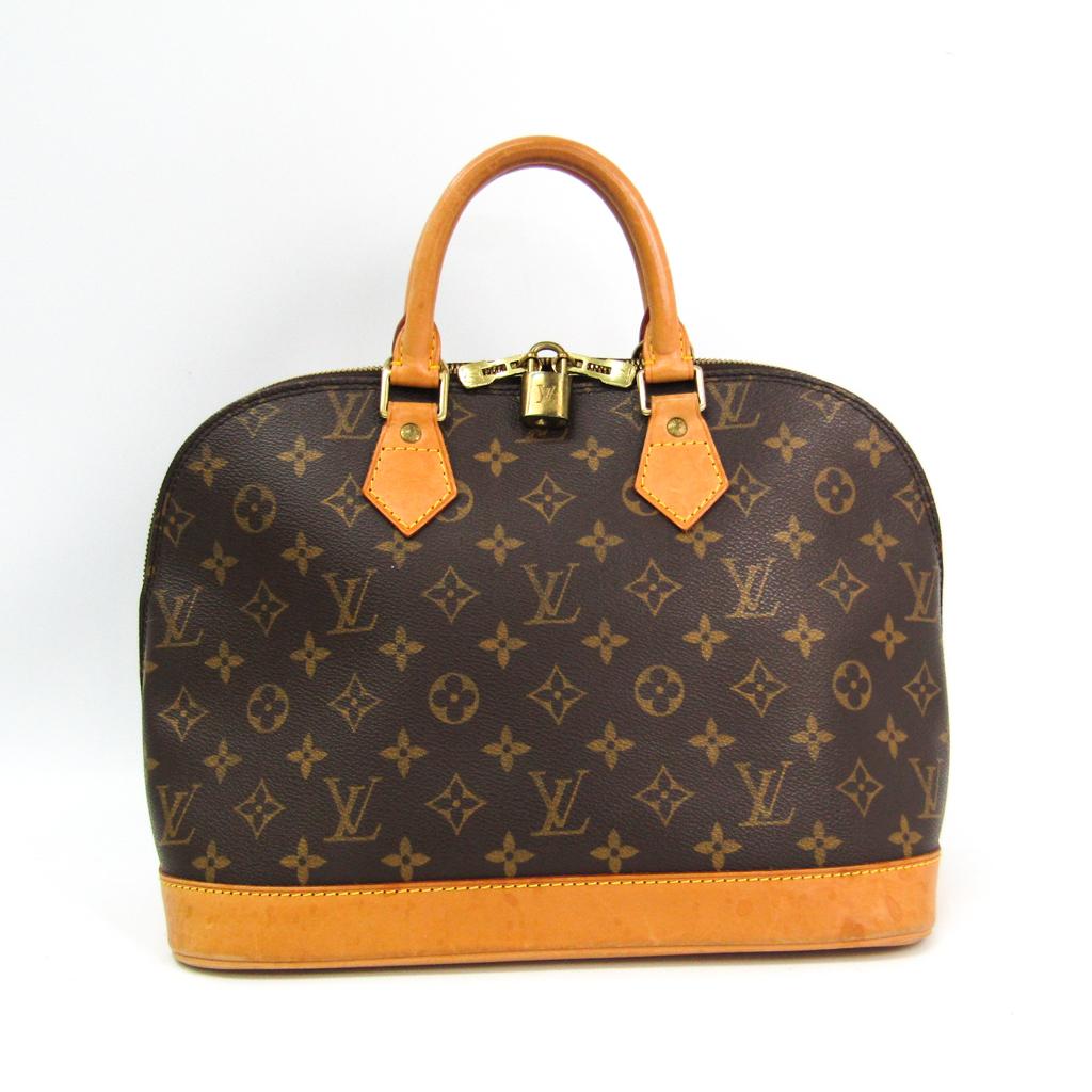 ルイ ヴィトン 定番キャンバス Louis Vuitton 国際ブランド モノグラム ハンドバッグ M51130 中古 アルマ レディース