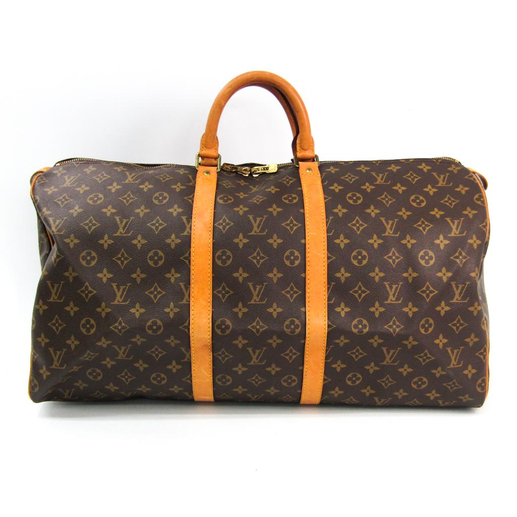 ルイ・ヴィトン(Louis Vuitton) モノグラム キーポル55 M41424 レディース ボストンバッグ モノグラム 【中古】