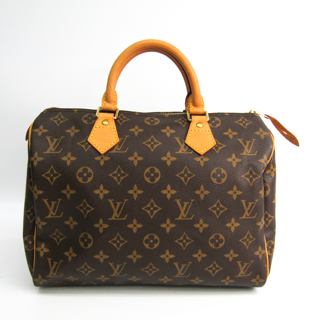 安値 ルイ ヴィトン Louis Vuitton モノグラム 商店 ハンドバッグ スピーディ30 M41526 中古 レディース