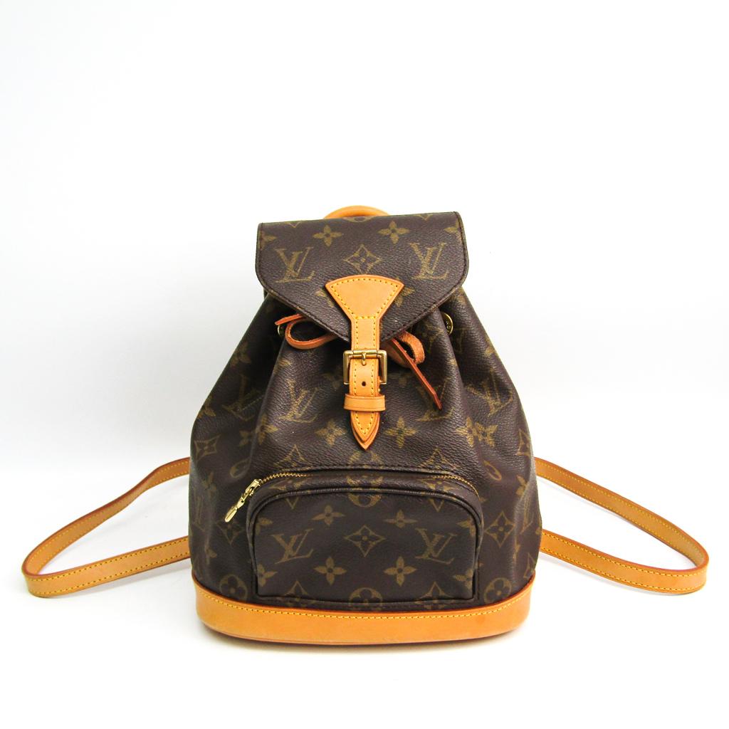 ルイ・ヴィトン(Louis Vuitton) モノグラム ミニ・モンスリ M51137 レディース リュックサック モノグラム 【中古】