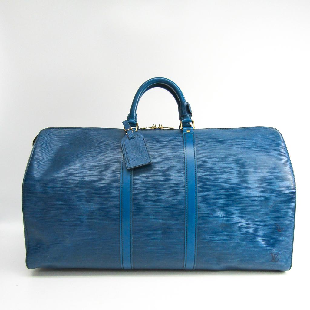 ルイ・ヴィトン(Louis Vuitton) エピ キーポル55 M42955 ボストンバッグ トレドブルー 【中古】