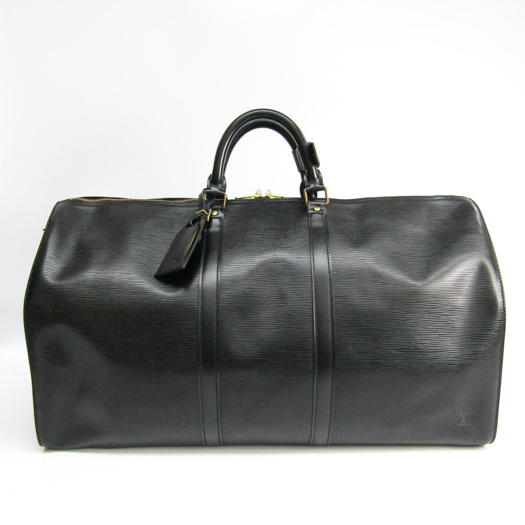 ルイ・ヴィトン(Louis Vuitton) エピ キーポル55 M42952 ボストンバッグ ノワール 【中古】