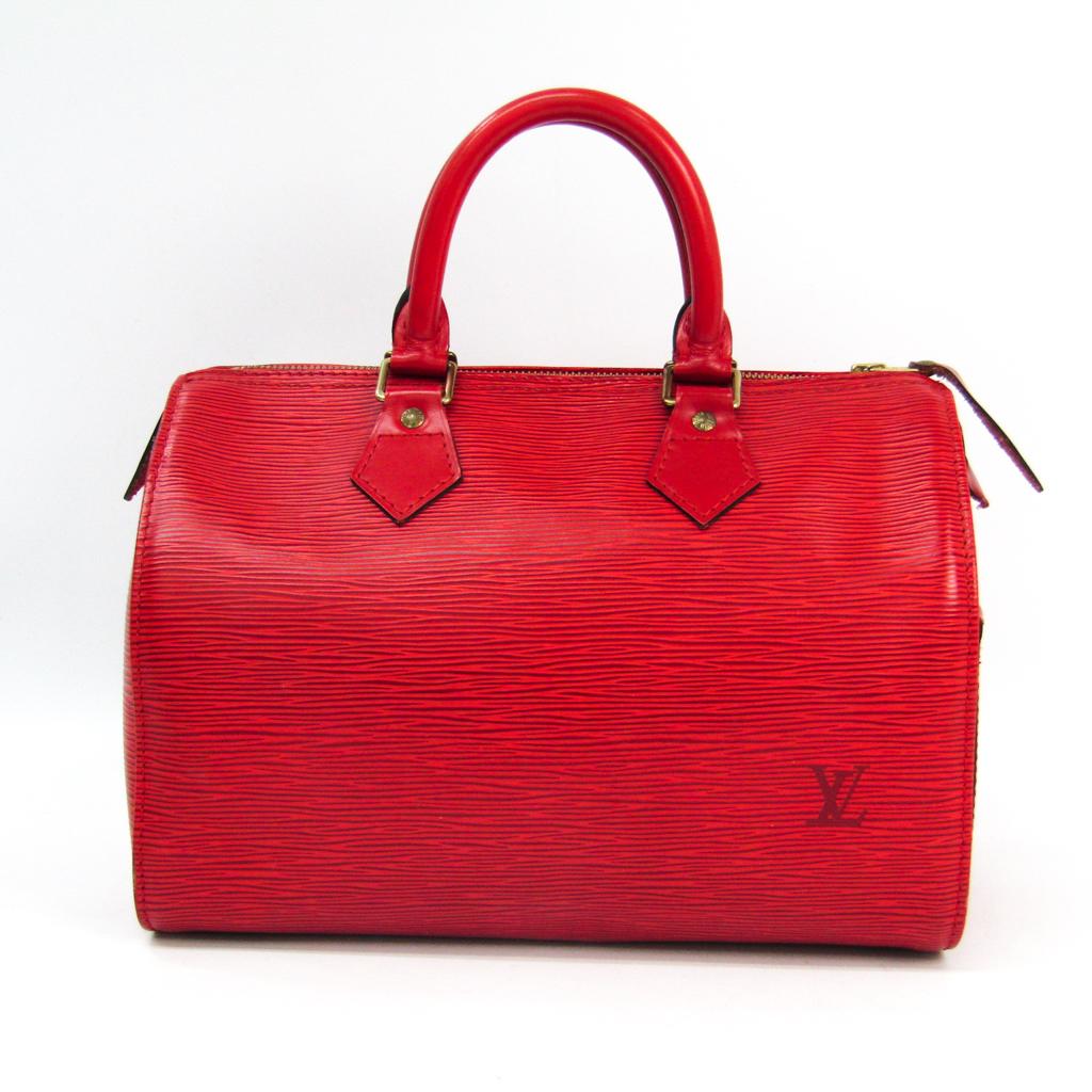 ルイ ヴィトン Louis Vuitton エピ スピーディ25 ハンドバッグ レディース M43017 通販 激安 カスティリアンレッド 中古 定番
