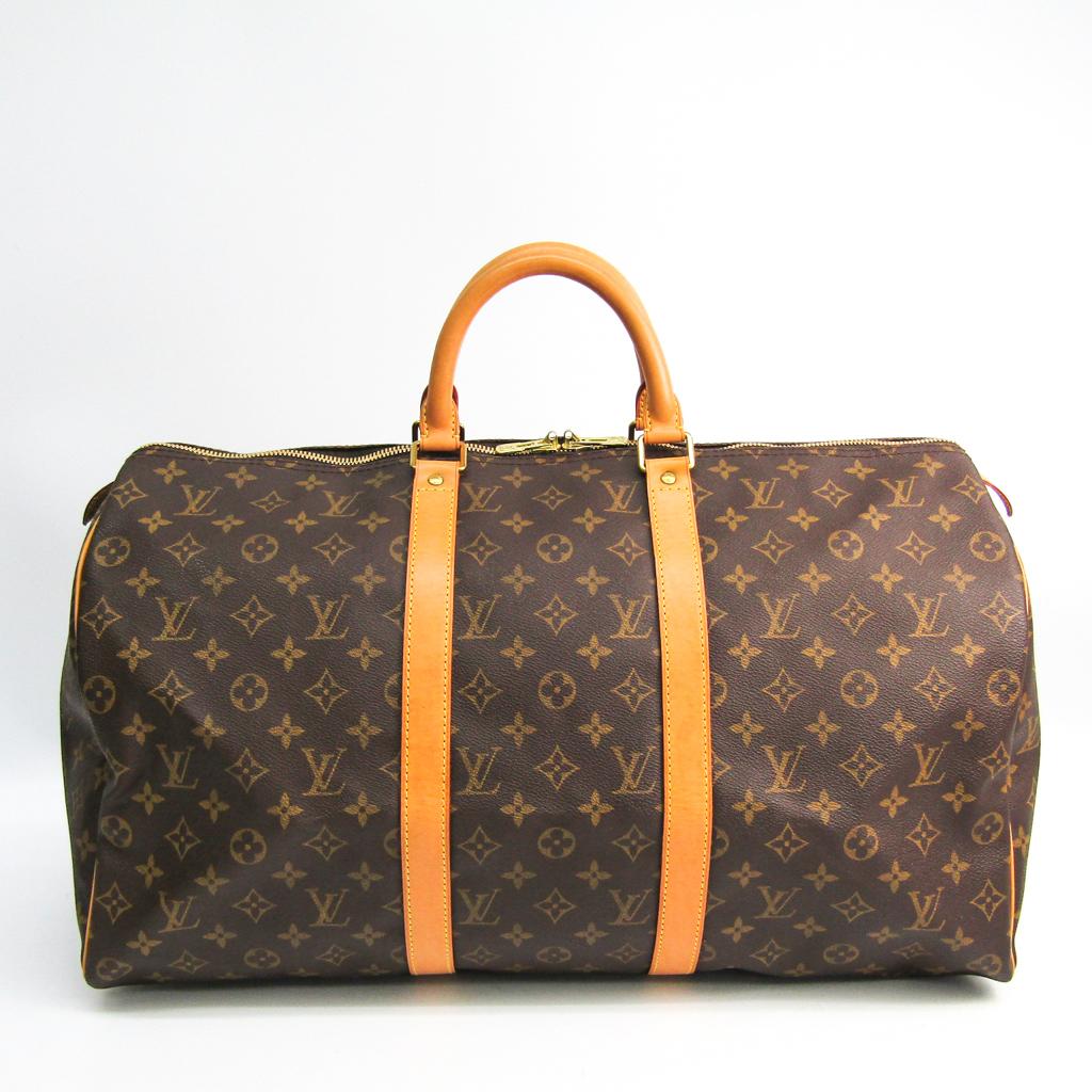 無料 ルイ ヴィトン Louis Vuitton モノグラム レディース M41426 ボストンバッグ 新品 送料無料 キーポル50 中古