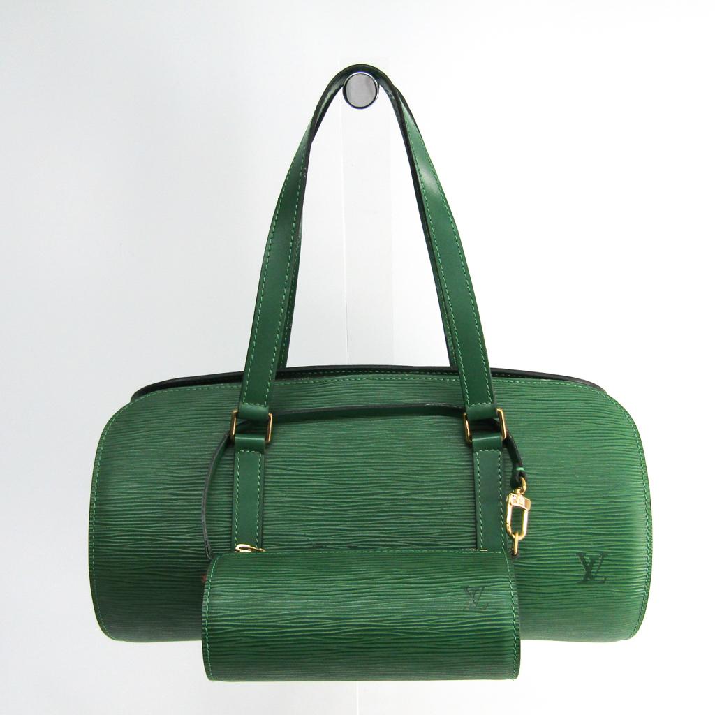 ルイ・ヴィトン(Louis Vuitton) エピ スフロ M52224 ハンドバッグ ボルネオグリーン 【中古】