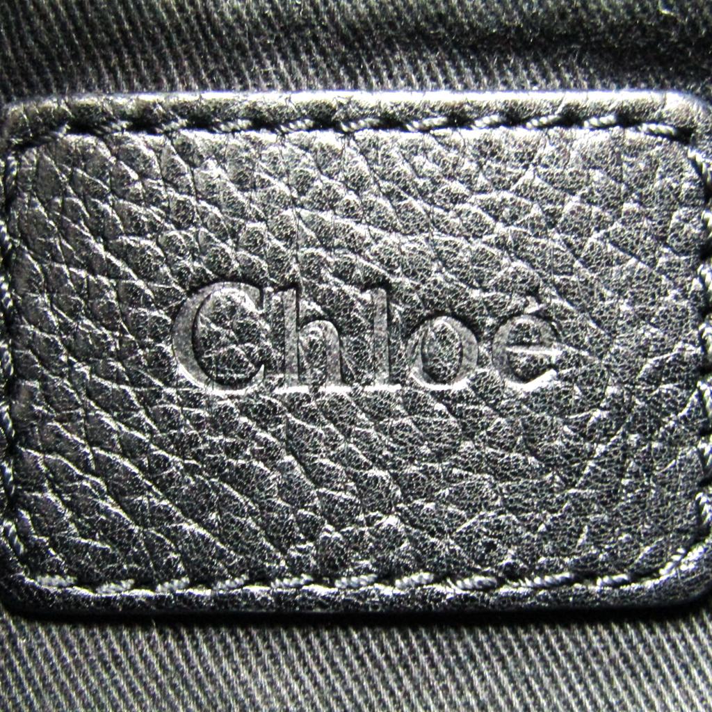 クロエ Chlo eacute;パラティ 3S0024 レディース レザー ハンドバッグ ショルダーバッグ ブラック0N8wOvmn