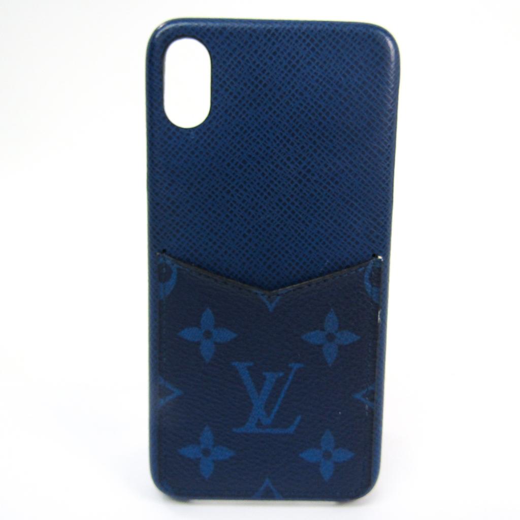 ルイ・ヴィトン(Louis Vuitton) モノグラム IPHONE・バンパー XS Max M30273 タイガ バンパー iPhone XS Max 対応 コバルト 【中古】