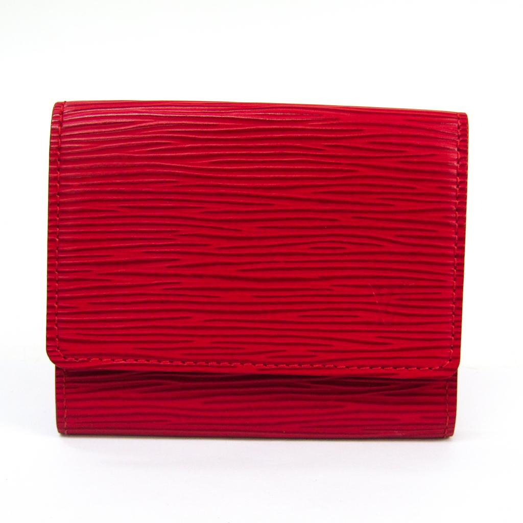 ルイ・ヴィトン(Louis Vuitton) エピ アンヴェロップ カルト・ドゥ ヴィジット M5658E エピレザー 名刺入れ ルージュ 【中古】