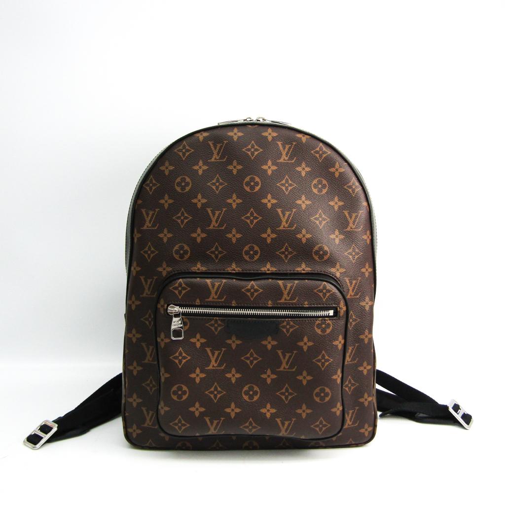 ルイ・ヴィトン(Louis Vuitton) モノグラム・マカサー ジョッシュ M41530 メンズ リュックサック モノグラム・マカサー 【中古】