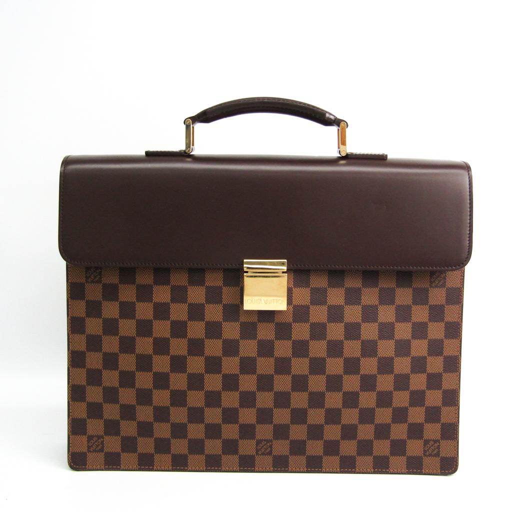 ルイ・ヴィトン(Louis Vuitton) ダミエ アルトナPM N53315 メンズ ブリーフケース エベヌ 【中古】