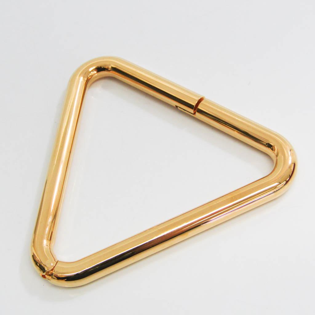 バレンシアガ 日本正規代理店品 メーカー再生品 Balenciaga ドライアングルブレスレット 528402 メタル 中古 バングル ゴールド