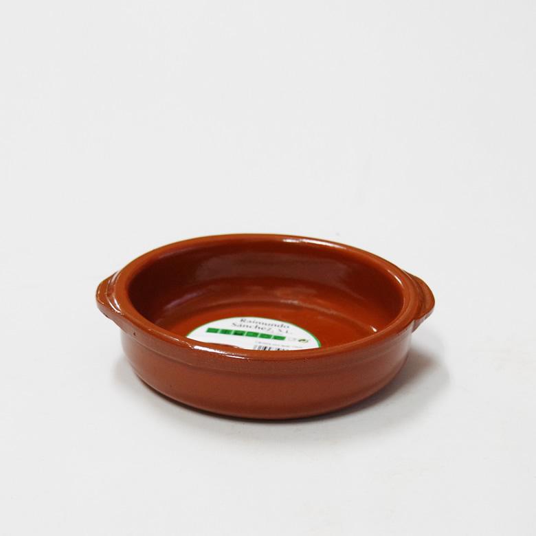 アヒージョ鍋 オンライン限定商品 カスエラ 耐熱陶器 耳あり 130mm 希少