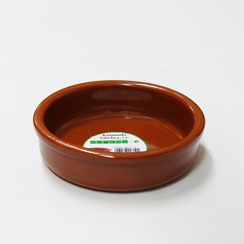宅配便送料無料 今だけ限定15%OFFクーポン発行中 アヒージョ鍋 カスエラ 耐熱陶器 160mm 耳なし