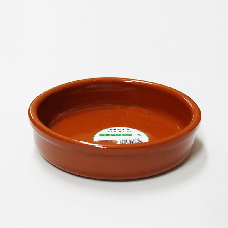 アヒージョ鍋 カスエラ 耐熱陶器 新作販売 耳なし 海外並行輸入正規品 180mm