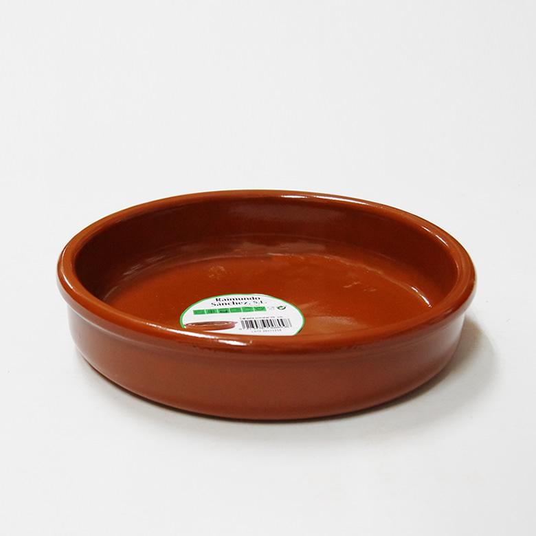 [再販ご予約限定送料無料] アヒージョ鍋 カスエラ 耐熱陶器 2020春夏新作 耳なし 200mm