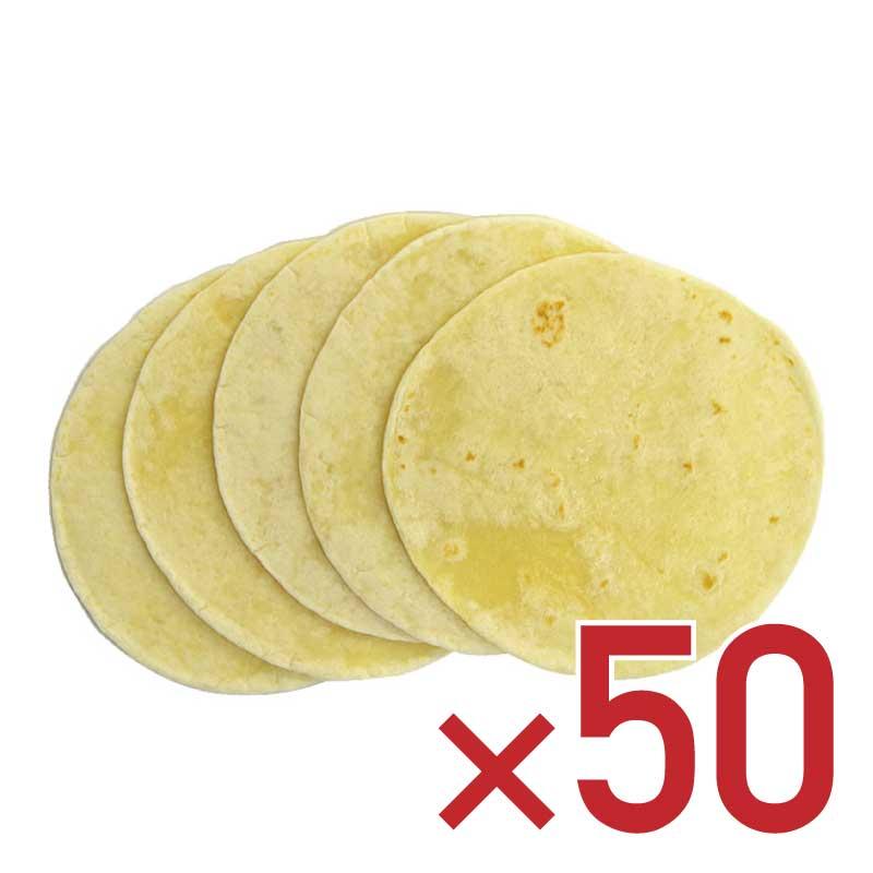 もっとタコスが食べたいあなたに… 高級な 小麦粉のトルティーヤ タコスの皮50枚入 人気ショップが最安値挑戦 あす楽対応_中国 あす楽対応_九州