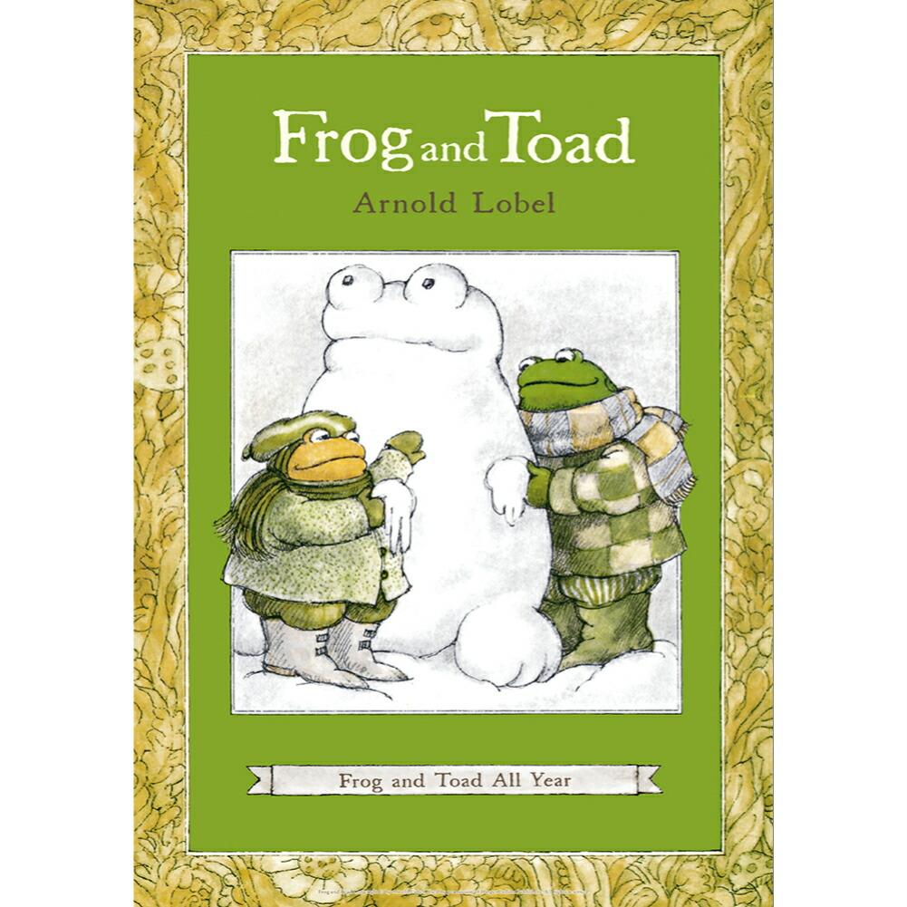 絵本作家 アーノルド ローベル のミニポスター がまくんとかえるくん FROG アウトレットセール 特集 送料無料限定セール中 AND TOAD Frog All ポスター Year and B4サイズ Tord