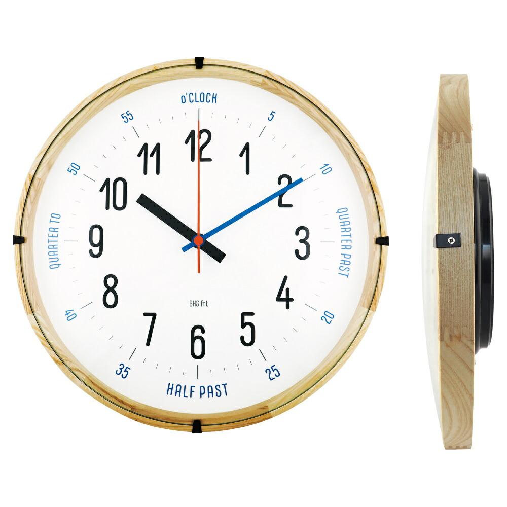 新作入荷 バウハウスマスターの復刻フォントを使用した壁掛け時計 バウハウス CarlMarx 復刻フォント ウォールクロック 驚きの値段 壁掛け時計