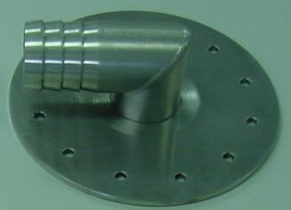 パイプ注入金具Φ38横 M5160