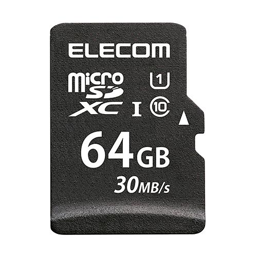 万が一の時でも無償でデータを復旧 1年間の保証期間内に1回限り無償でデータ復旧サービスを利用できるmicroSDXCメモリカードです 人気激安 ELECOM 再再販 エレコム microSDカード microSDXC UHS-I 64GB MF-MS064GU11LRA データ復旧サービス付