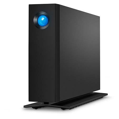 ラシー LaCie d2 Professional 14TB 外付けHDD 外付け ハードディスク USB3.1(Gen2) Type-Cインターフェイスを搭載 アルミ製ボディ ブラック STHA14000800