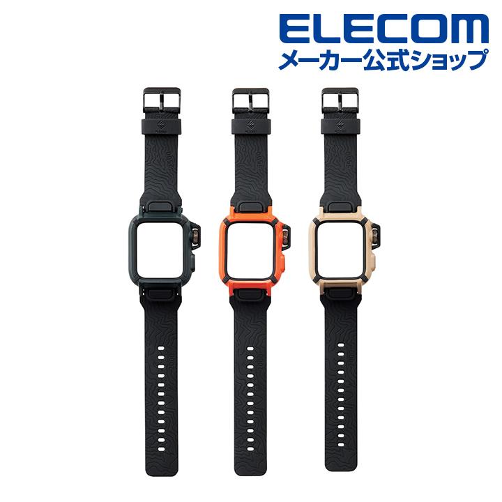 05b5ca4dce 楽天市場】エレコム Apple Watch 用 バンド ケース series4 44mm ...