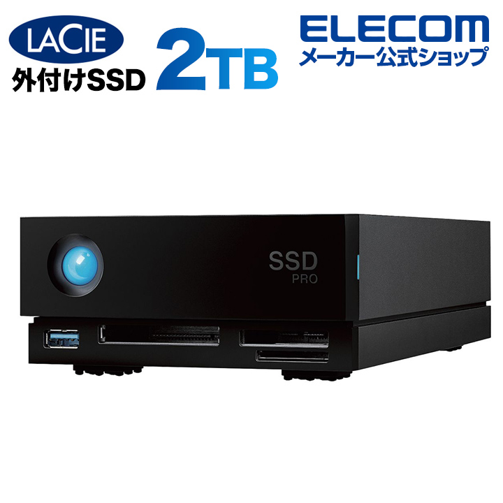 【限定特価】 ラシー LaCie 1big dock SSD Pro 2TB Thunderbolt 3対応 冷却用ファン搭載 STHW2000800, フジイデラシ c282cbfe