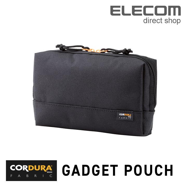 エレコム ガジェットポーチ 高耐久CORDURAナイロン ブラック BMA-CDGP01BK