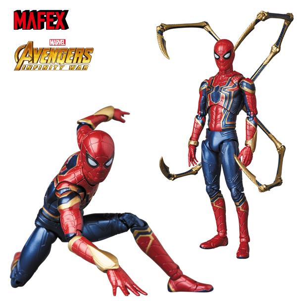 【2019年8月出荷分予約商品!】 MAFEX IRON SPIDER/アイアン スパイダー AVENGERS INFINTY WAR