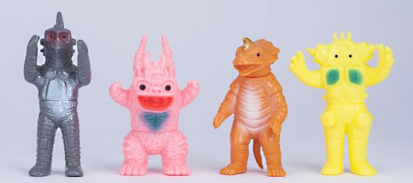 復刻ブルマァクミニ怪獣シリーズ ウルトラセブン怪獣ミニセット 1