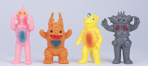 復刻ブルマァクミニ怪獣シリーズ ウルトラセブン怪獣ミニセット 2