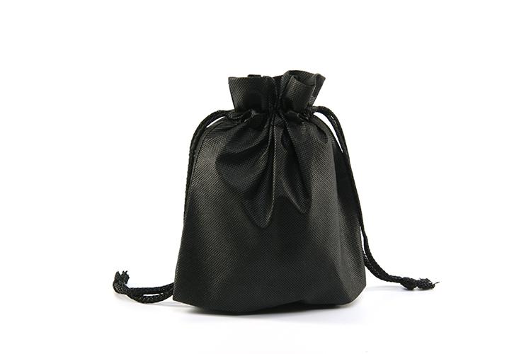 携帯スリッパ 二つ折り ブラック 収納袋付 携帯用 リボン スリッパ バッグバンド