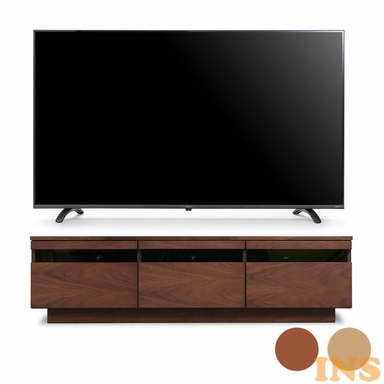 4Kテレビ 55型 音声操作 テレビ台完成品 BTS-GD150U茶 送料無料 テレビ テレビ台 セット TV 4K 音声操作 55型 完成品 ガラス アイリスオーヤマ