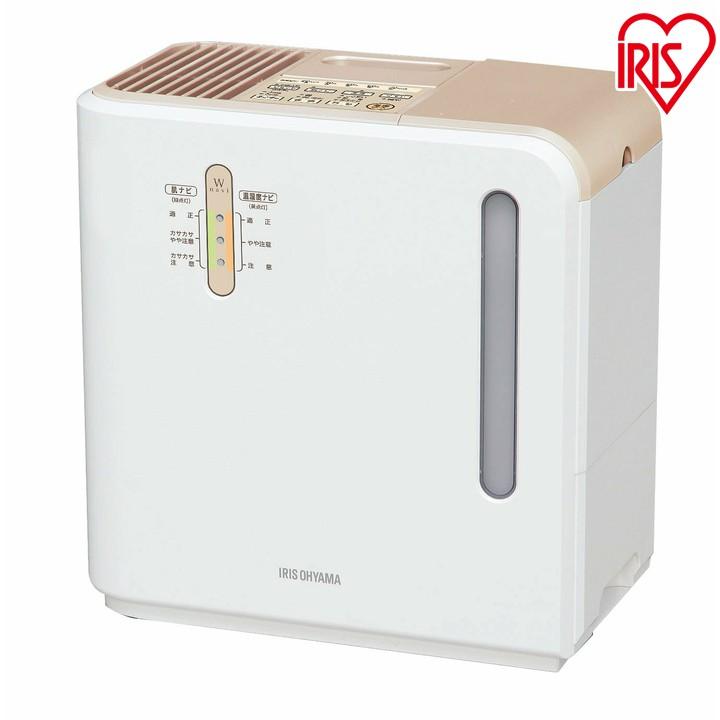加湿器 加熱式 ハイブリッド インフルエンザ 700ml ARK-700Z-N送料無料 イオン付 加湿器 加湿機 卓上 オフィス 小型 静音 おしゃれ かわいい アイリス アイリスオーヤマ ゴールド あす楽対応