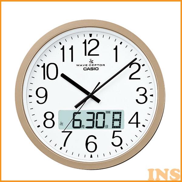 CASIO電波掛時計 IC-4100J-9JF≪D≫【送料無料】