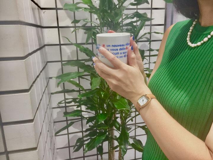 デイト付トノー革ウォッチ BL1143-CA腕時計 時計 ウォッチ リストウォッチ サン・フレイム キャメル・ネイビー・ピンク・ホワイト【D】【B】