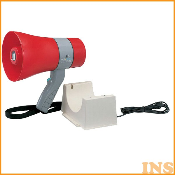 ユニペックス 〔UNI-PEX〕 充電式6W防滴メガホン TR-215CS【KM】【TC】(サイレン付き)【送料無料】
