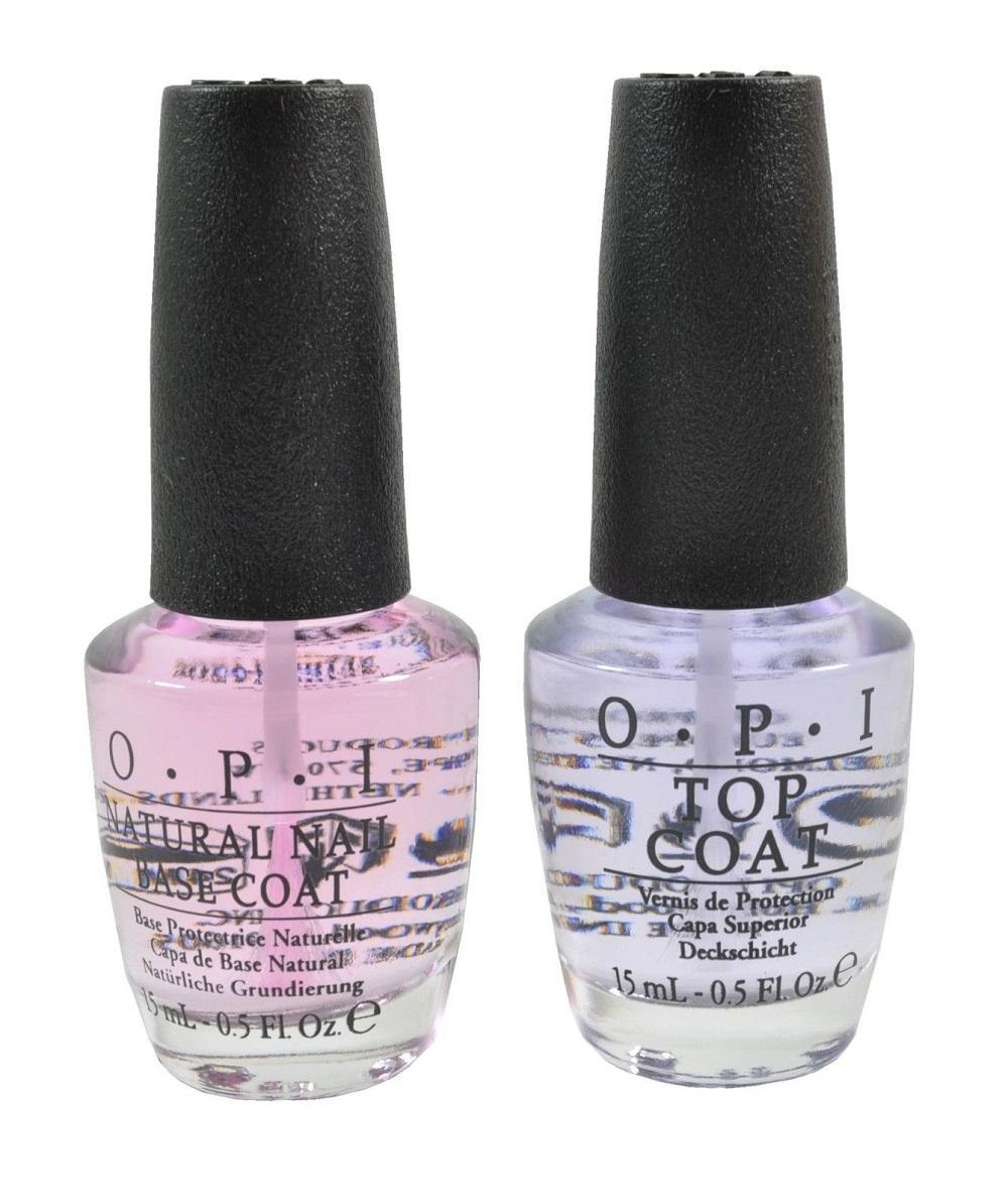 L: New OPI Opie eye topcoat + basecoat topcoat+basecoat for each 15 ...