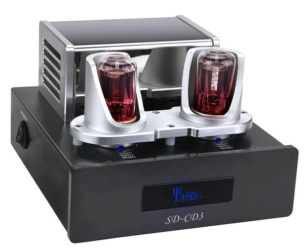 送料無料 新品●YAQIN社 バッファーアンプ音質改善機 SD-CD3 6N8P プロセッサー●