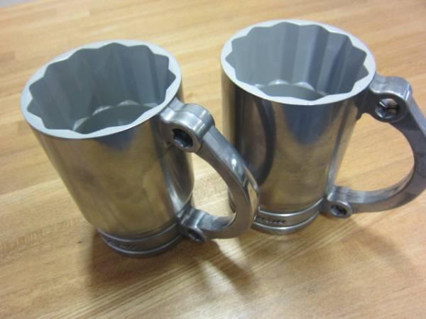 送料無料 新品●アルミ製 SNAP-ON MUG スナップオン ビレットマグカップ 2個セット ソケットマグカップ●USA限定●