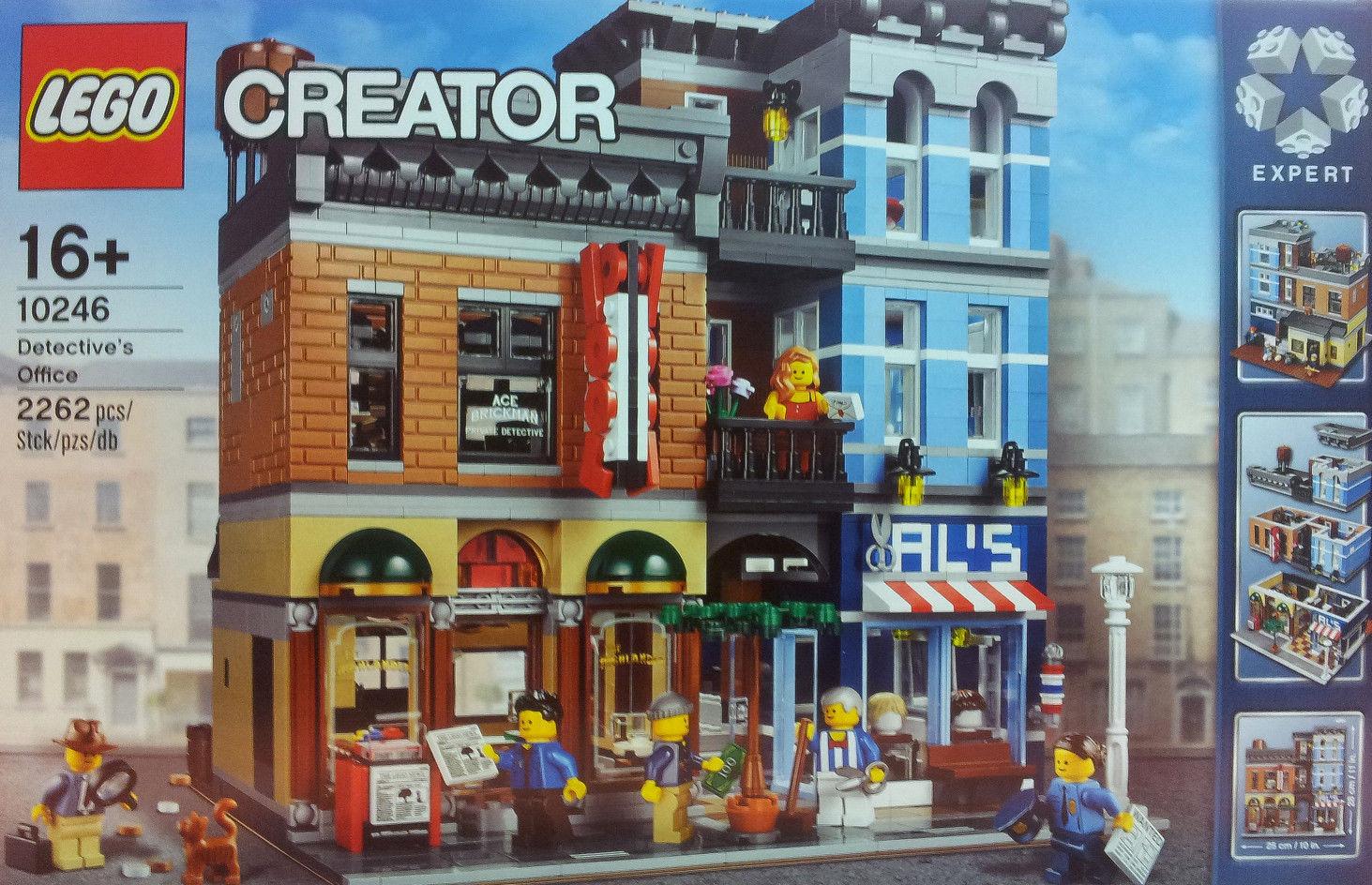 送料無料 新品 LEGO 10246 探偵事務所 レゴ 10246
