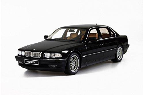 予約注文(2-3週間待ち) 送料無料 新品 オットー otto 1/18 BMW 750 iL (E38) ブラック  ミニカー 模型
