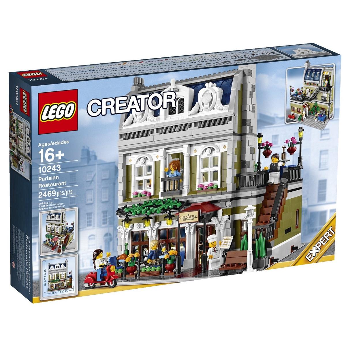 送料無料 新品●LEGO 10243 Creator Parisian Restaurant レゴ クリエイター ●