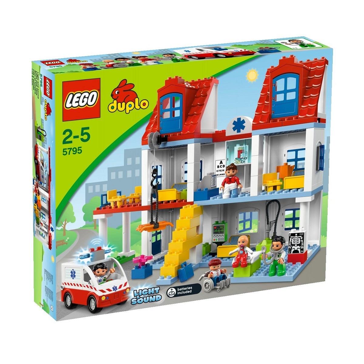 送料無料 新品●LEGO 5795 レゴ デュプロ 大きな病院●