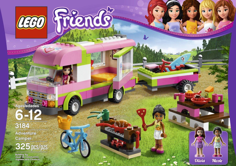 送料無料 新品●LEGO  レゴ Friends☆ 3184 Adventure Camper●
