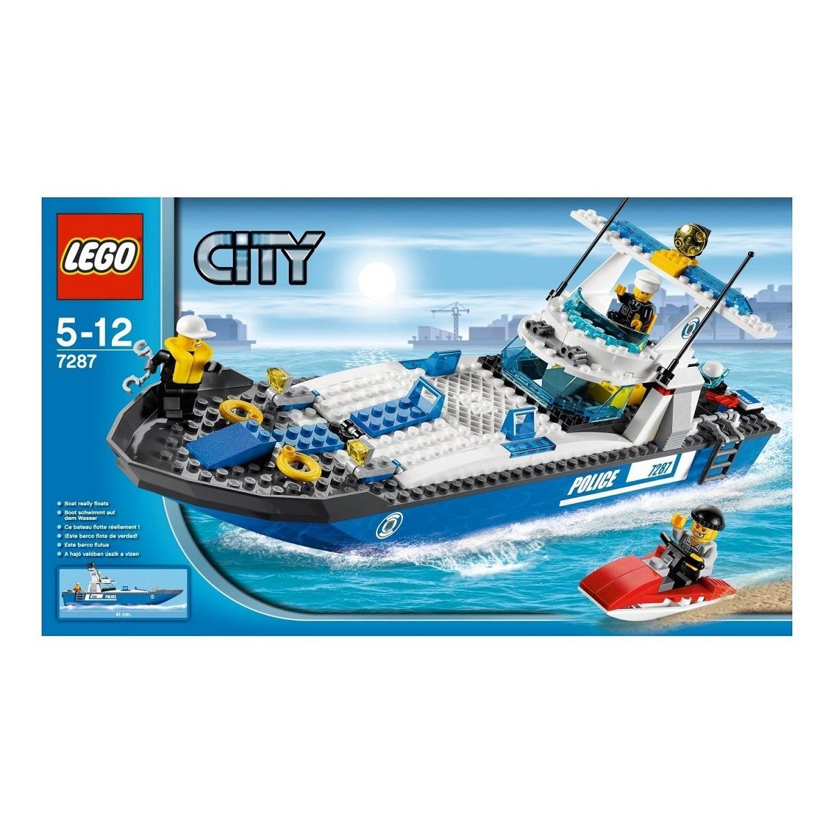 送料無料 新品●LEGO レゴ シティ ポリス スピードボート 7287 ●
