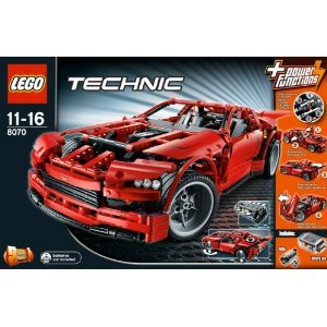 送料無料 新品 LEGO レゴ テクニック スーパーカー 8070