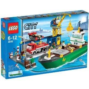 送料無料 新品●LEGO レゴ シティ コンテナ船とハーバー 4645●